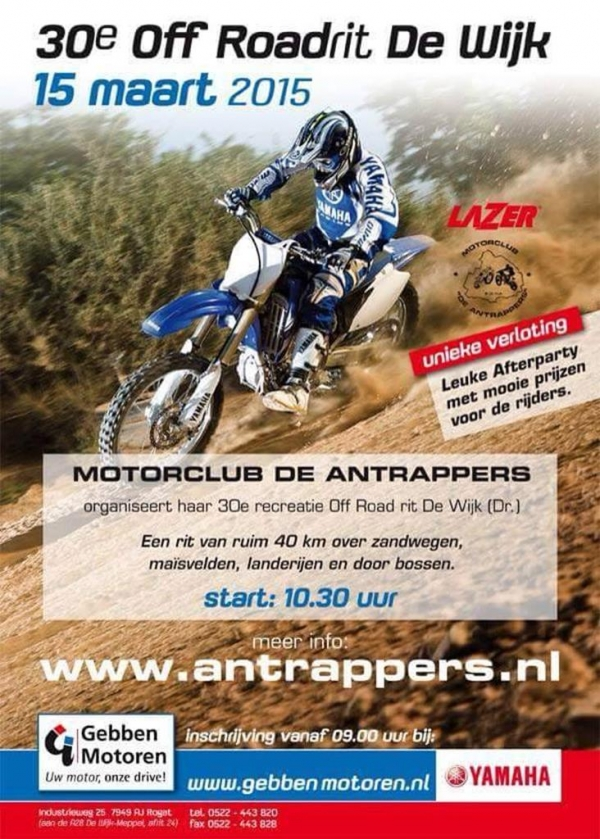 30e Off road rit De Wijk